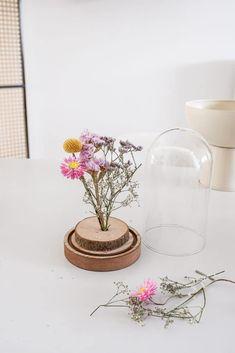 Flowers In Jars, Diy Flowers, Flower Crafts, Glass Vase, Diy Crafts, Table Decorations, Green, Ikea, Room