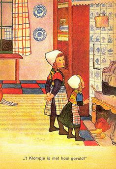 Sinterklaas postcard