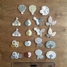 Decorations for baby clothes
