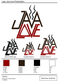 Java Love Coffee design