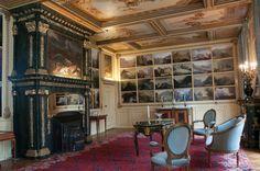 Blauwe Salon Kasteel Keukenhof    Keukenhof Castle - The Netherlands