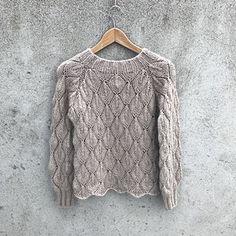 Ravelry: Olive Sweater - My Size pattern by Pernille Larsen Sweater Knitting Patterns, Lace Knitting, Knit Crochet, Start Knitting, Quick Knits, How To Purl Knit, Lace Patterns, Pulls, Knitwear