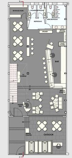 Auriga Restaurant,Ground Floor Plan