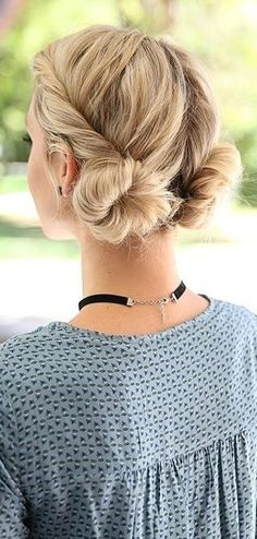 34 Space Buns for Copy - How to Create Spa .- 34 Space Buns to Copy – How to Create Space Buns – Cool Global Hairstyles - Curly Hair Styles, Medium Hair Styles, Hair Styles With Buns, Easy Hair Styles Long, Hair Styles Casual, Hair Styles Summer, Bun Styles, Hair Medium, Easy Summer Hairstyles