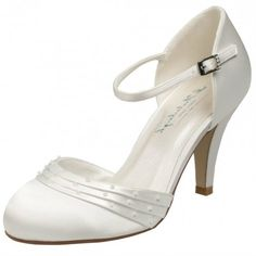 Melissa by Westerleigh Ivory or White Wedding or Occasion Shoes