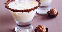 Strictly for the adults, this creamy chocolate and liqueur combination is perfect for after dinner drinks. Cocktail Recipes, Cocktails, Drink Recipes, Butterscotch Ice Cream, Butterball Recipe, After Dinner Drinks, Chocolate Caramels, Schnapps, I Want To Eat