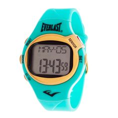 Everlast Turquoise HR5 Finger Touch Heart Rate Monitor Watch