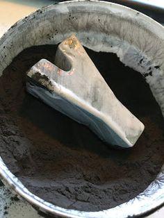 Hur man rostar med järnpulver