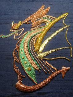 Royal School of Needlework project.