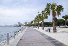 """The new walk path along the sea in Cagliari connects the Ichnusa Harbour to """"Il Lazzaretto"""" cultural centre. Ideal for a sporting activity or for a walk, enjoying the wonderful landscape."""