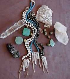 I reallly want to start making crystal jewelry