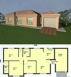 Flat roof house designs south africa house plans with flat roof unique beautiful house plans south house plans of house home interior designs inspiration Round House Plans, Tuscan House Plans, Free House Plans, House Plans With Photos, Simple House Plans, House Layout Plans, Ranch House Plans, Best House Plans, Modern House Plans