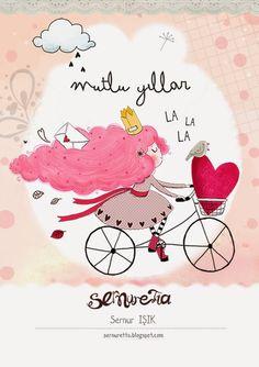 S E R N U R E T T A - illustration blog: MUTLU YILLAR!