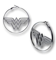Wonder Woman Hoop Earrings Are SOLD out everywhere  Whyyyyyyyyyyyyyyyyyyyyyyyyyyyyyy