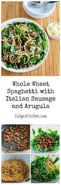 ... With Balsamic Sweet Potatoes, Baby Arugula (or Spinach), And Parmesan