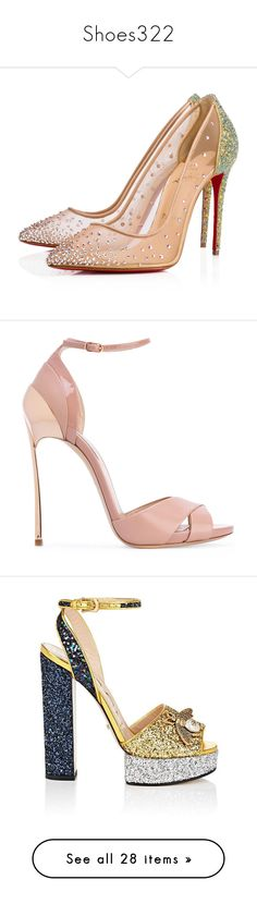 """""""Shoes322"""" by singlemom ❤ liked on Polyvore featuring shoes, sparkly shoes, high heel shoes, embellished shoes, sparkly high heel shoes, glitter shoes, sandals, heels, monk-strap shoes and strappy heel shoes"""