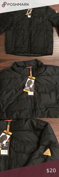 NEW L, Navy//Olive Gerry Mens Bearwood Workwear Jacket