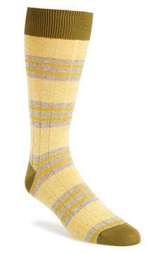 Men's Pantherella 'Savannah' Socks - Yellow