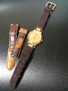 macrame watch braclet