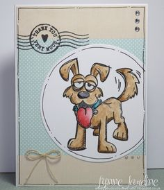 FS511 A Waggy Dog by Ruby-dooby-doo - Cards and Paper Crafts at Splitcoaststampers