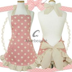 ruffle apron - love the colors and pattern