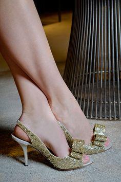 Kate Spade Glitter Coated Heels