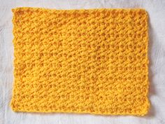 Amber Perry Patterns -happy little dishcloth