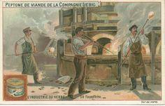Late 19th century trade card showing gathering at the bocca.  http://www.sha.org/bottle/Glassmaking/gatheringscene.jpg