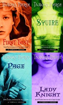 Protector of the Small Series by Tamora Pierce... Third series to read
