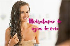 Hidratação de Água de Coco: Garrei Amor!