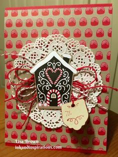 Tuesday Tip- Easy Stampin' Up! Christmas Projects #1