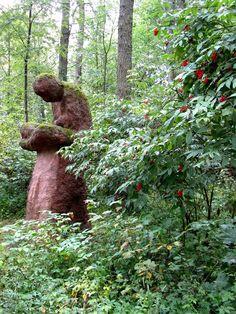 Keko, Olavi Lanu. Photographer Taina Tervonen #Lahti Land Art, Installation Art, Finland, Places To Go, Environment, Artists, Sculpture, Artwork, Plants