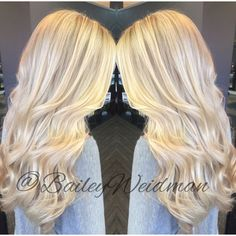 Bright golden blonde, spring and summer ready!