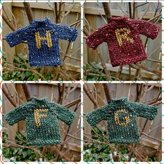 Harry Potter Christmas Decorations, Harry Potter Ornaments, Harry Potter Christmas Tree, Hogwarts Christmas, Harry Potter Halloween, Christmas Time, Christmas Crafts, Harry Potter Sweater, Deco Harry Potter