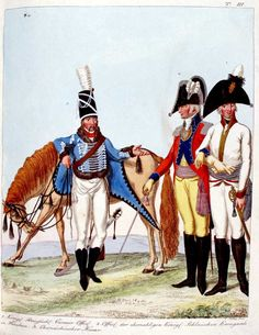 Koeller 1. Prussia: Cuirassier Officer 2. Officer of the Former Polish Guard 3. Saxony: Hussar