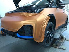 Bmw I3, Orange, Car, Automobile, Autos, Cars