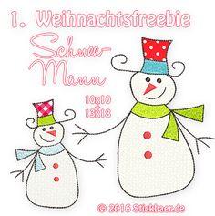 Das 1. Stickbär-Weihnachtsfreebie 2016 - Stickbär Blog