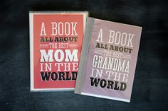 Mothers Day - A Book For Mom - free printable - fun gift for mom and grandma