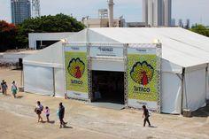 Stand daSUTACO – artesanato de todo o estado de São Paulo em um pavilhão dedicado ao pequeno produtor.