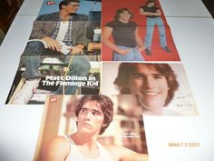Matt Dillion The Outsiders 12 Pinup 2 Posters 80's Bare Chest Magazine Clippings Matt Dillon, Ebay Auction, Great Photos, My Ebay, Pinup, The Outsiders, Teen, Posters, Magazine