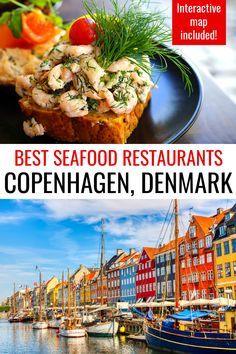 Wondering where to eat in Copenhagen, Denmark? If you are a seafood lover, don't miss these top seafood restaurants in Copenhagen. In addition to sharing the best places to eat in Copenhagen, this post also shares how to reserve your table online before your Copenhagen trip and an interactive map pinpointing each of these Copenhagen restaurants to help you plan your Copenhagen itinerary! #Copenhagen #Denmark #Europe #travel #foodie #seafood Denmark Travel, Denmark Europe, Copenhagen Denmark, Malta, Portugal, Best Seafood Restaurant, Europe Travel Guide, Travel Guides, Drinking Around The World