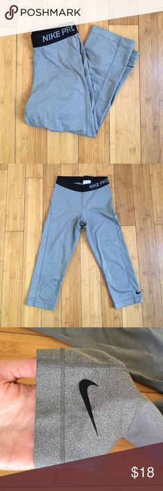 NIKE Dri-Fit Capris Like new, Nike Dri-Fits. Only worn a couple of times. Size small, too small for me! Nike Other