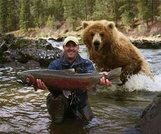 Bearing Alaskan Salmon Fishing... More at 11:00