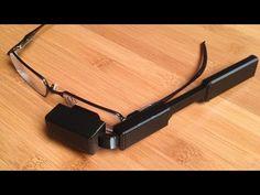 ▶ DIY Glass - Wearable Video Display - YouTube