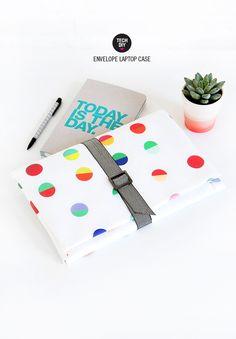MY DIY   Envelope Laptop Case   I SPY DIY