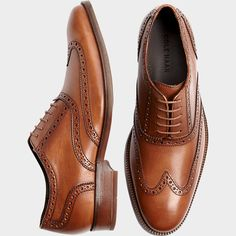 Buy a Cole Haan Williams Tan Wingtip Shoes and other Dress Shoes at Men's Wearhouse. Browse the latest styles, brands and selection in men's clothing.
