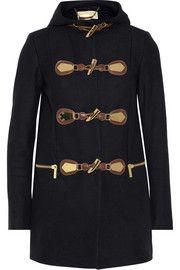 MICHAEL Michael Kors Hooded wool-blend duffle coat