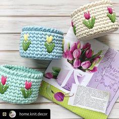 The most beautiful Crochet basket and straw models Crochet Bowl, Crochet Basket Pattern, Knit Basket, Crochet Patterns, Braidless Crochet, Crochet Storage, Crochet Home Decor, Crochet Pillow, Crochet Gifts