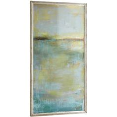 """John-Richard Collection """"Abstract Wash Center"""" Print ($645) ❤ liked on Polyvore featuring home, home decor, wall art, art, quadros, abstract wall art, abstract home decor and john richard wall art"""