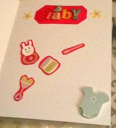 Inside the Baby Girl Card